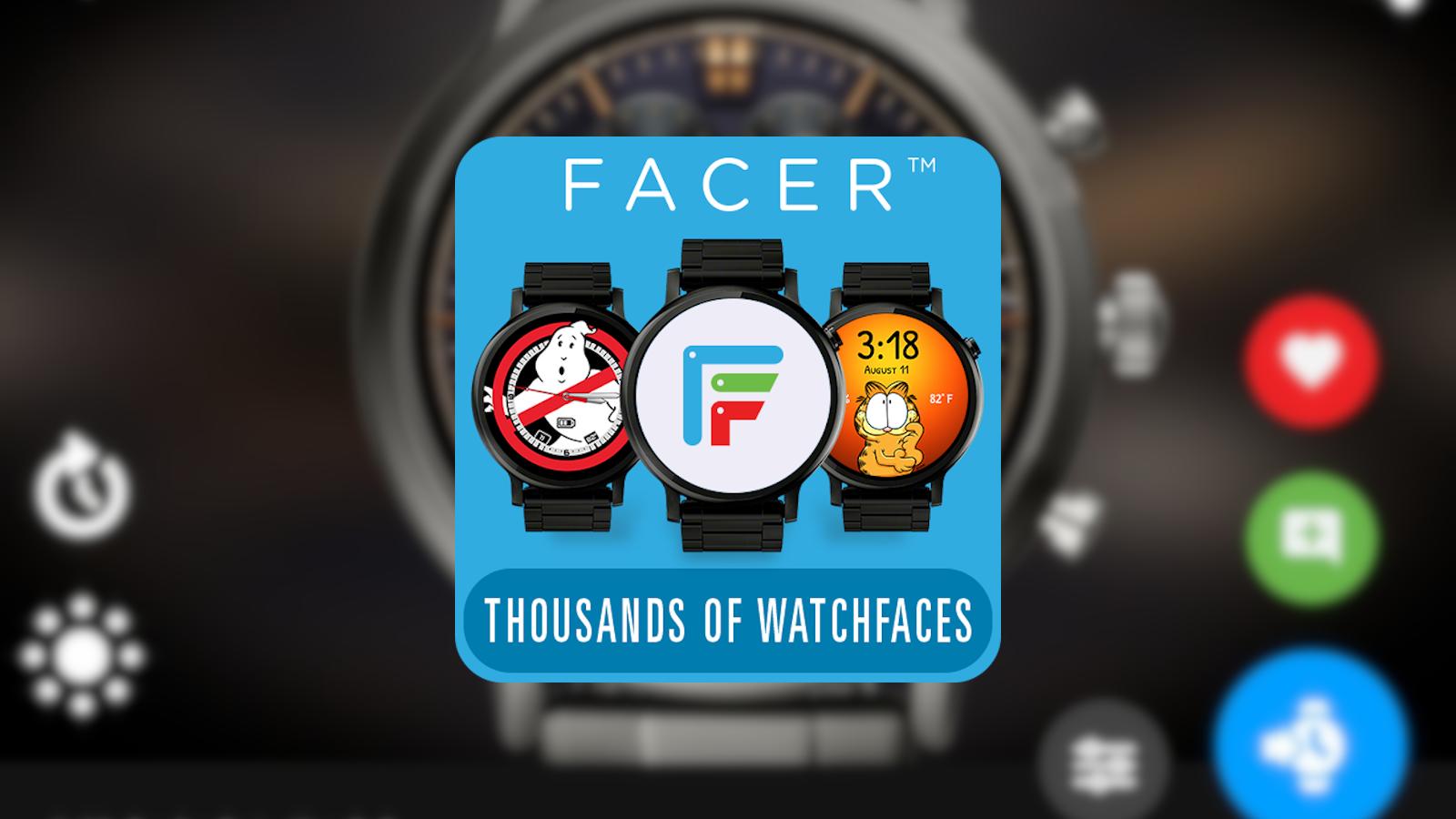 wear osアプリFacerの使い方、紹介