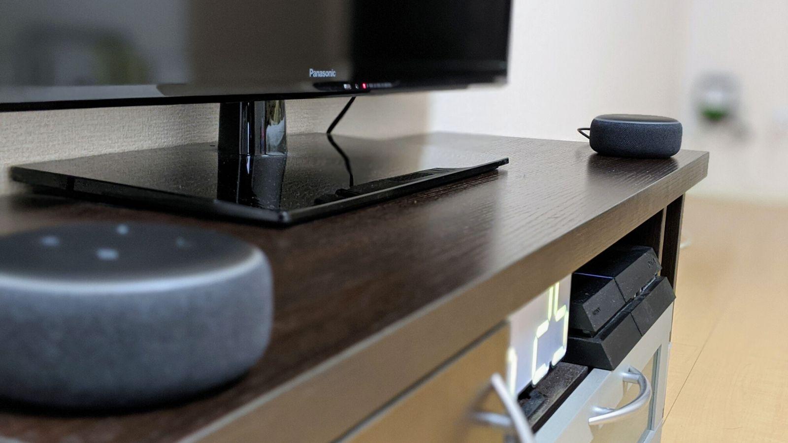 【Amazon】2台のEcho Dotでステレオ再生させてお部屋の快適度をアップ。設定も簡単!【スマートスピーカー】