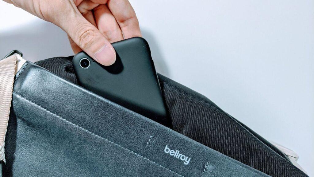 白と黒のコントラストがカッコいいスリングバッグ。Bellroy Sling Premiumをレビュー