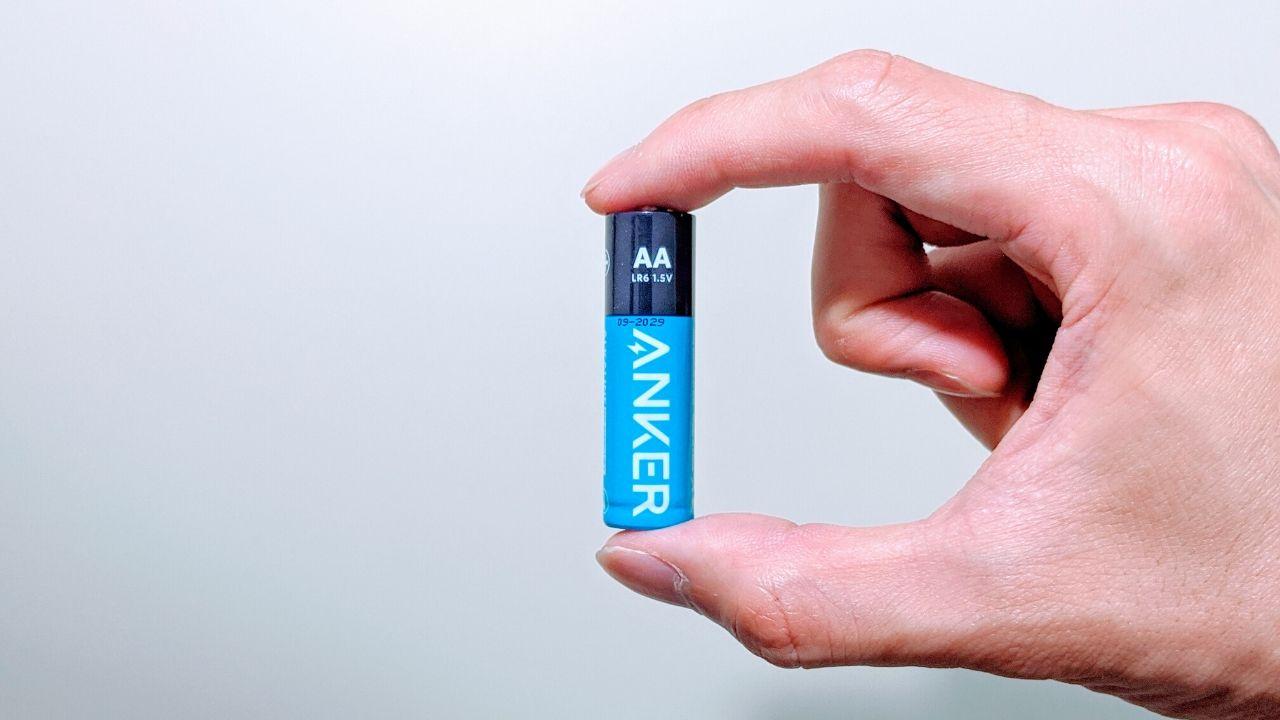 災害時の備えに。10年間長期保存できるAnkerの乾電池を購入