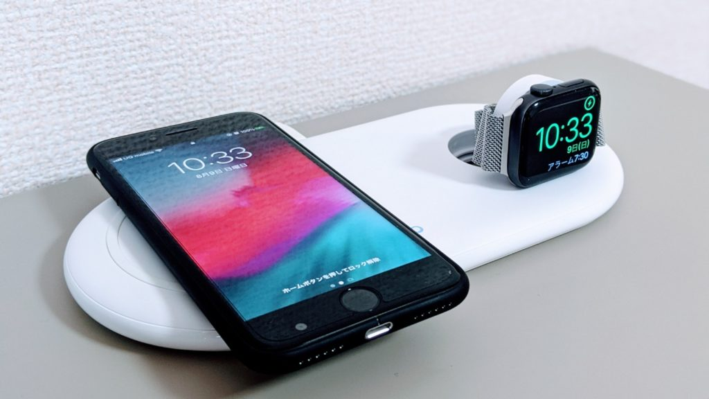 Anker PowerWave+Pad with Watch Holderの紹介
