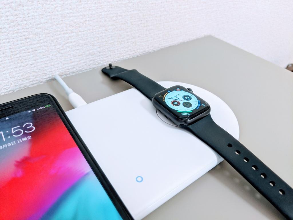 Anker PowerWave+Pad with Watch Holderを購入。スマホとApple Watchの2in1でデスクがスッキリ