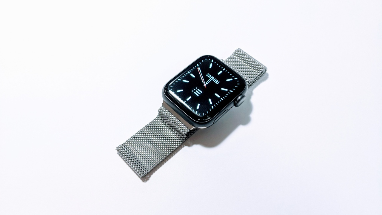 BRGのApple Watch用ミラネーゼループバンドを購入。通気性も良く手ごろな値段で高級感アップ