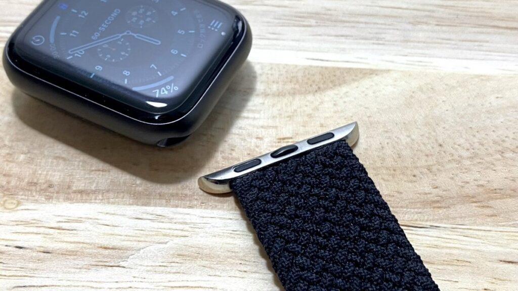 格安でもよく伸びるVANRYのブレイデッドソロループをレビュー。約2000円で買える良コスパのApple Watch用バンド。