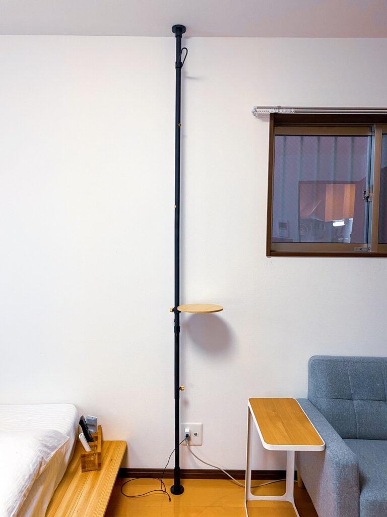 空間をデザインするおしゃれな突っ張り棒DRAW A LINE(ドローアライン)をレビュー