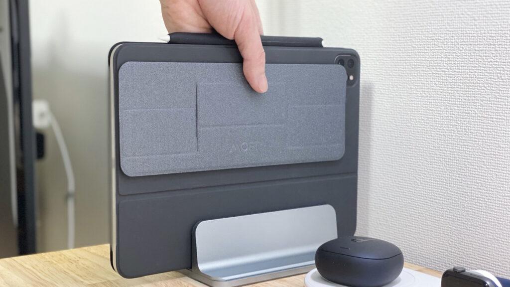 MOFT Miniをレビュー。iPad Pro 11インチ+Smart Keyboard FolioにMOFTを貼り付けてみた感想