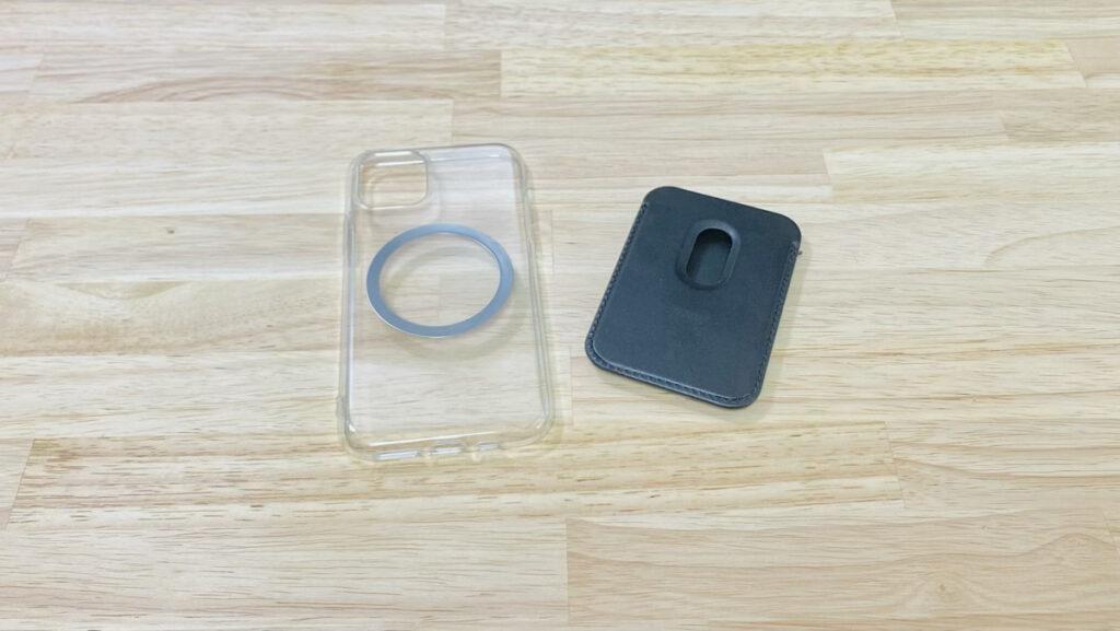 iPhone11 ProにMagSafeウォレットを装着。金属製リングとサードパーティ製MagSafeウォレットを紹介